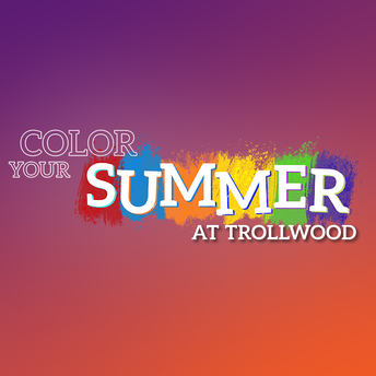 color your summer at trollwood logo