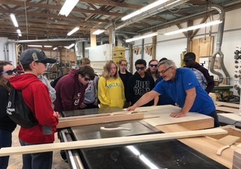Jimtown Junior High 8th Grade attends Manufacturing Day