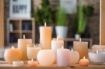 Candles for Mothers Day
