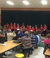 Honor chorus performance