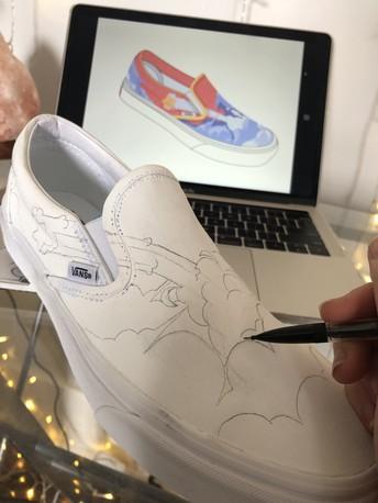 Avonworth Art Students Participate in Vans Custom Culture Competition