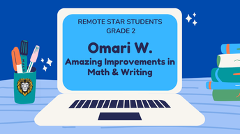 2nd Grade Remote Star Students