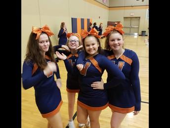 Westport Cheerleaders