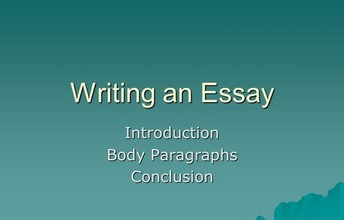 Essay写作Body Paragraph写作重点分析