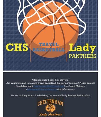 CHS Lady Panthers Travel Basketball