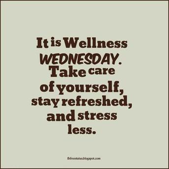 Wellness Wednesday!!