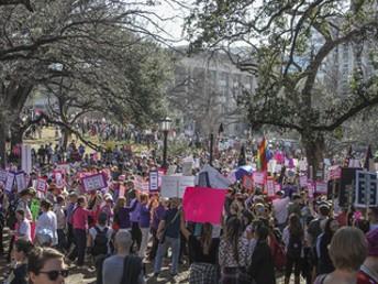 Dallas Women's March 1/20/18