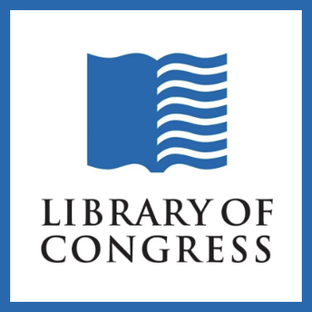 This is an image of the icon of the Library of Congress as well as a link to its website.