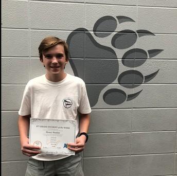 8th Grade - Henry Haskin