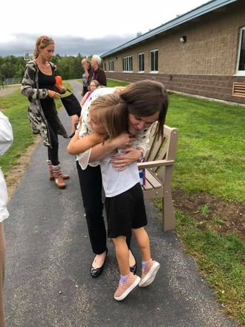 LPCS Panther's Paw on Mrs. Ellis, our New Principal