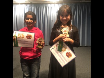 First Place Winners