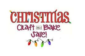 Student Craft & Bake Sale ~ December 6th