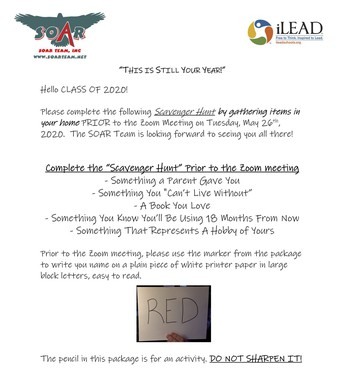 Virtual Senior Retreat - Tuesday, May 26 at 2:30 p.m.