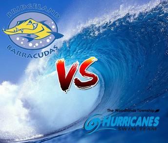 Bridgeland Barracudas v. Woodlands Hurricanes