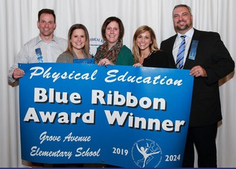 Grove awarded IL P.E. Blue Ribbon Award