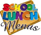 Field Day Lunch Menu