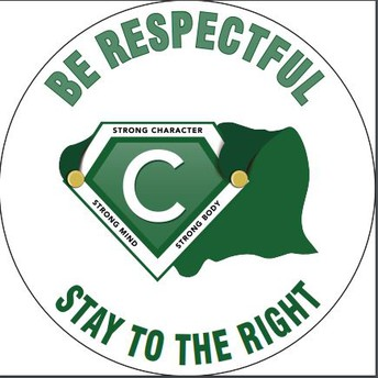 Be Respectful-Stay to the Right!