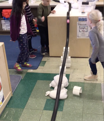 Students Test Out Their Ramp!