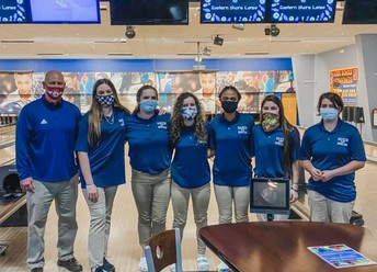Baker Girls' Bowling qualified for State with a Record of 15-1