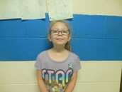 2nd Grade Student of the Month