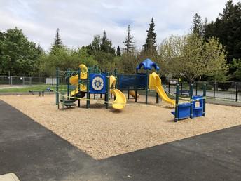 Closed Kinder playground