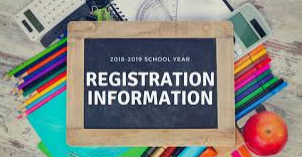 If your child needs to register, register online or call the school