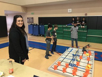 Coach Luned on Robot Skills