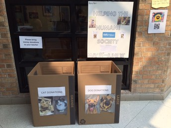 Student Initiative - Donations to the Humane Society welcome!