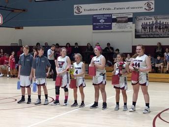 Congrats 8th Grade Student Athletes!