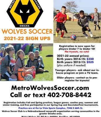 Metro Wolves Soccer