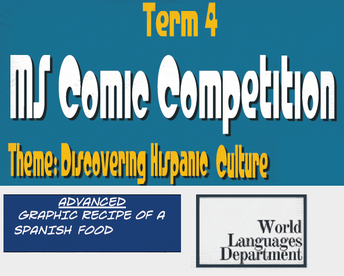 Advanced Spanish Comic Competition