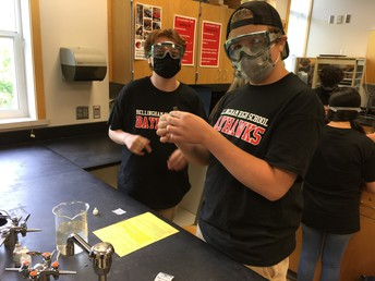 Students engaged in Science Class
