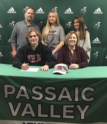 Lacrosse player, Ethan Shaw, signed to Ohio Wesleyan University