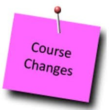Changes to Course Requests