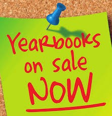 Yearbooks on sale now for the lowest price of the year!!