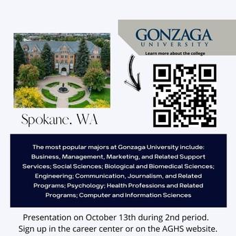 Gonzaga University Presentation