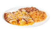 Menu for Adult Attendees: Enchiladas