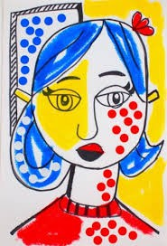 Pop Art Portrait Inspired by Roy Lichtenstein: