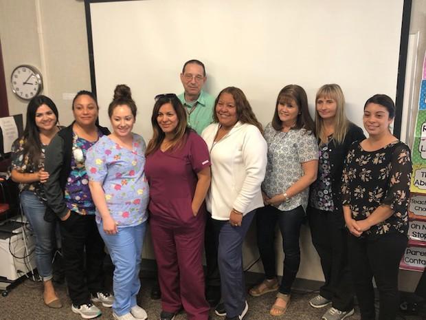 SUSD Health Aides, Nurse & LVN