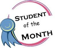 Congratulations October Students of the Month