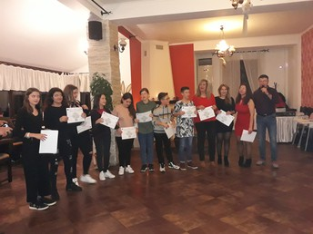Europass Certificates Cerimony