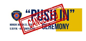 """""""Push In"""" Ceremony cancelled due to COVID-19"""
