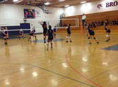 Freshman Team in action!