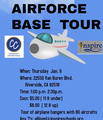 Community Connections- Murrieta- March Airforce BaseTour