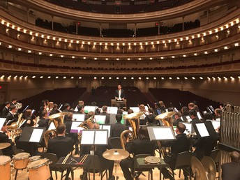 RBHS Performing at Carnegie hall