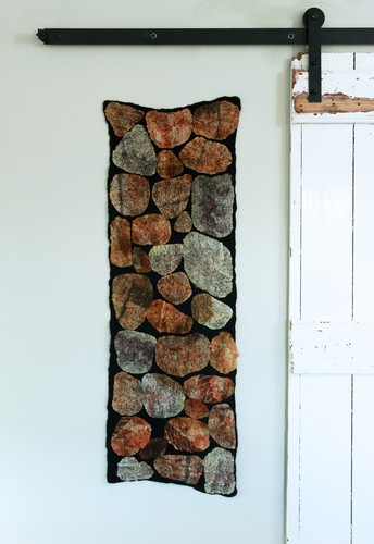 Nuno felt scarf, table runner or small wall hanging, the choice is yours!