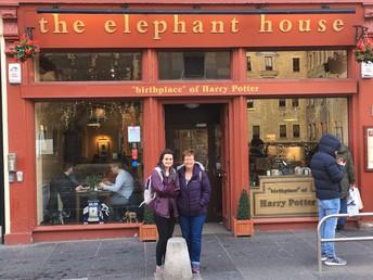 "Mrs. Reinert Visits ""Birthplace"" of Harry Potter"