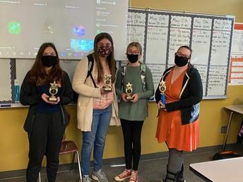 Fermi Second Place Math Winning team for OPS!