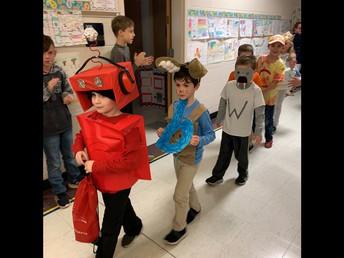 Kindergarten has Letterland Parade