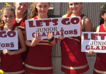 Jr. Gladiators Cheerleading